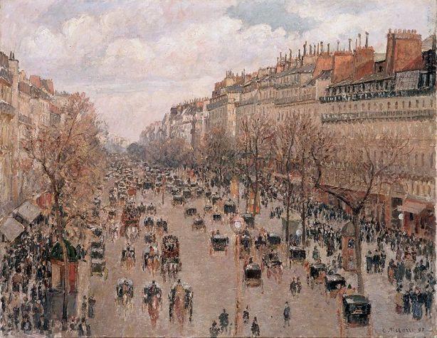 Camille_Pissarro_Boulevard_Montmartre 1897