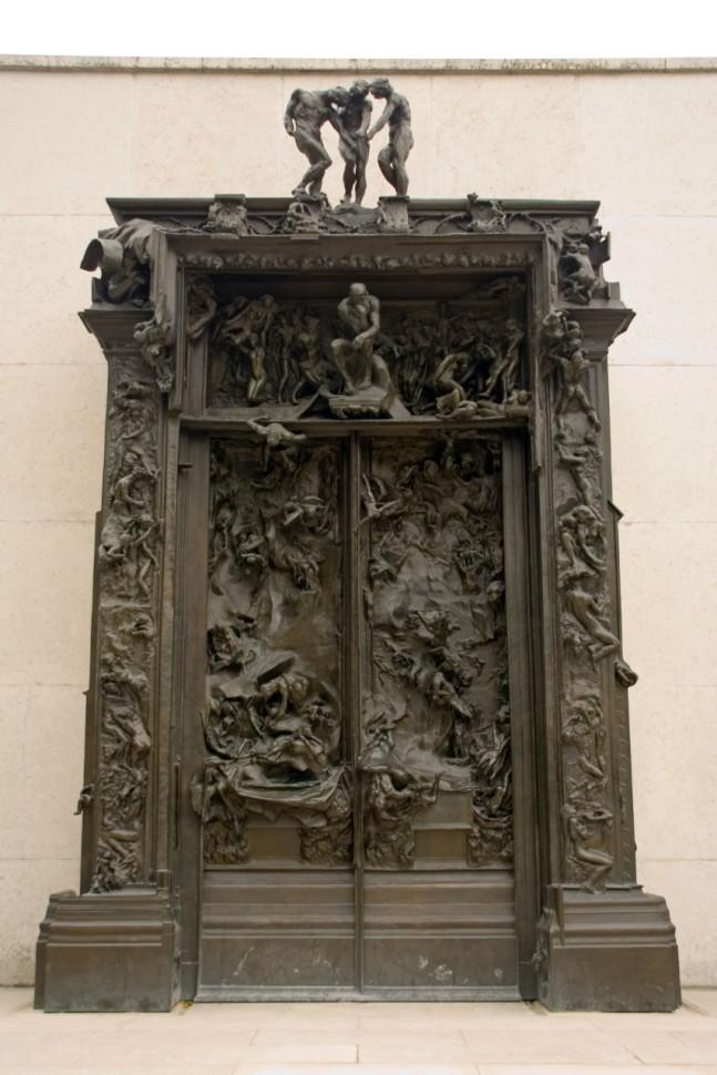 Réplica de las Puertas del Infierno