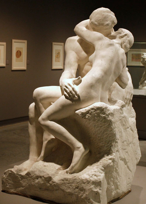 Rodin, el beso