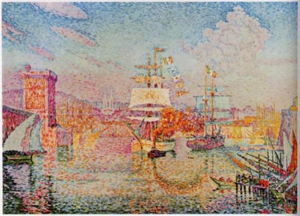 signac entrada-al-puerto-de-marsella-1911-signac