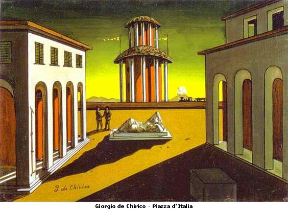 1 Giorgio de Chirico Piazza d'Italia