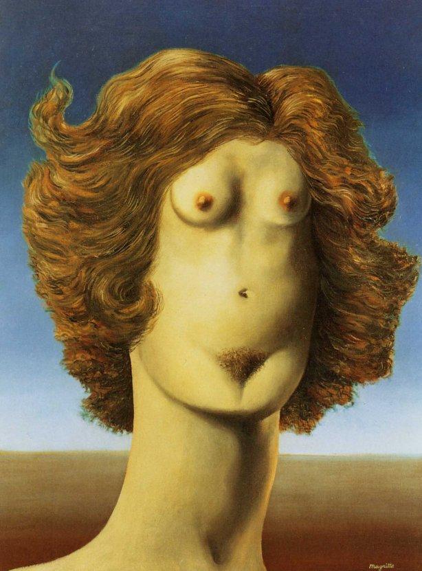 1934-Magritte-La violación