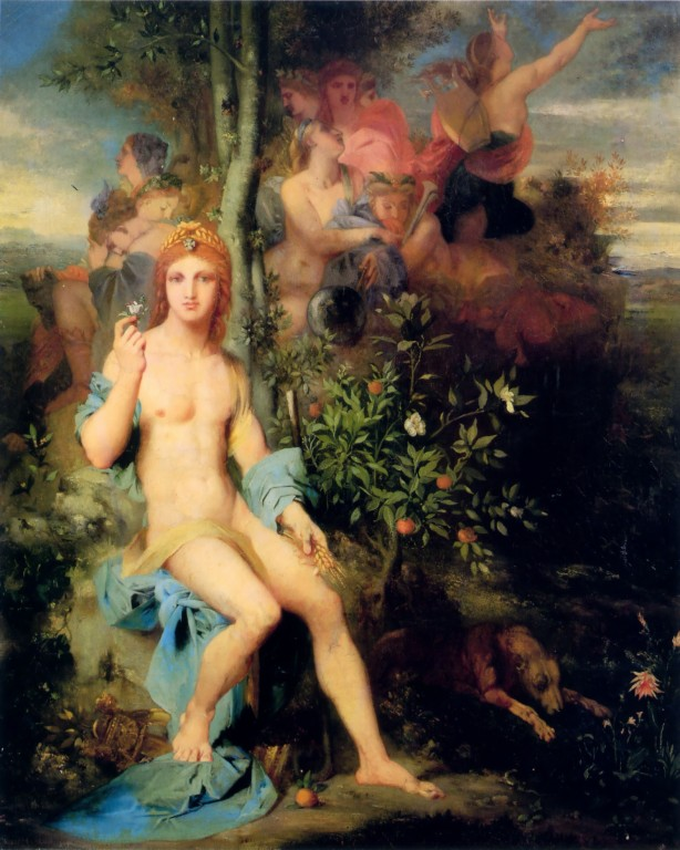 apollo-and-the-nine-muses-1856