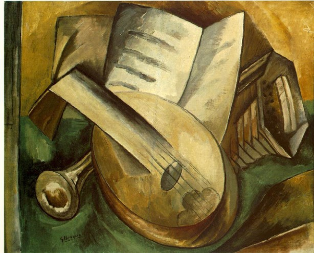 Braque, Musical Instruments 1908