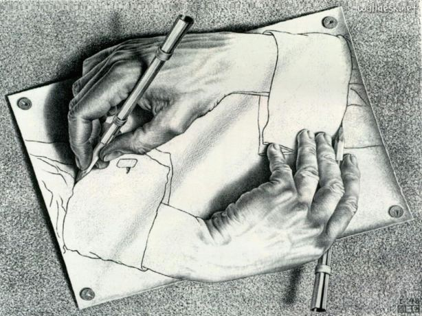 Cartoon-Escher