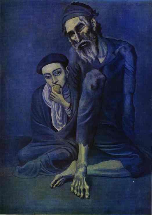 ciego-y-lazarillo-1903-etapa-azul