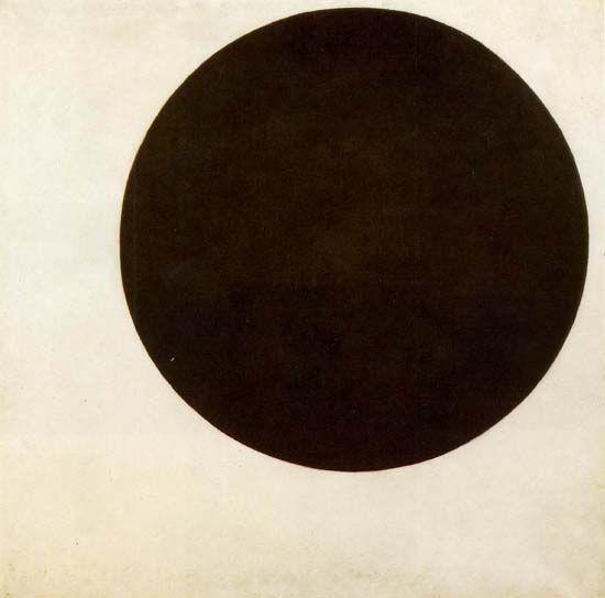 circulo negro kasimir malevich