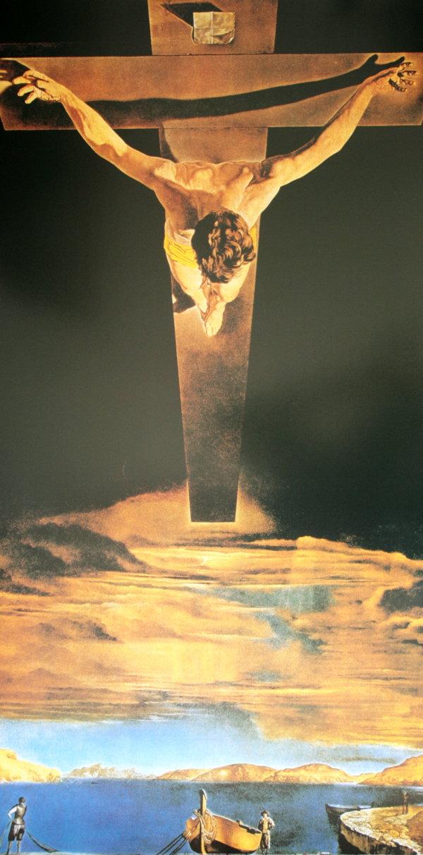 dali-el cristo de san juan de la cruz