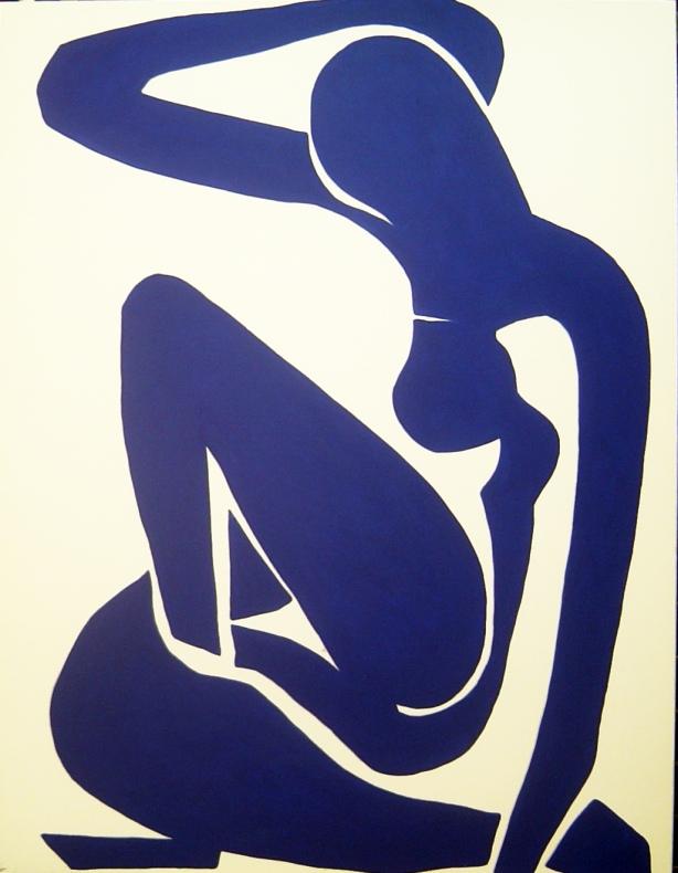 desnudo en azul Matisse