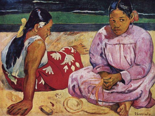 gauguin-mujeres-tahitianas-1891