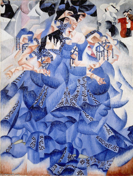 Gino-Severini-Ballerina-in-Blue