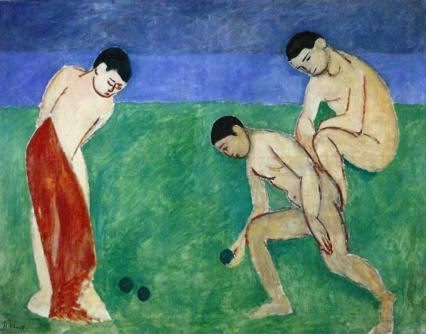 Henri Matisse Juego de bolos