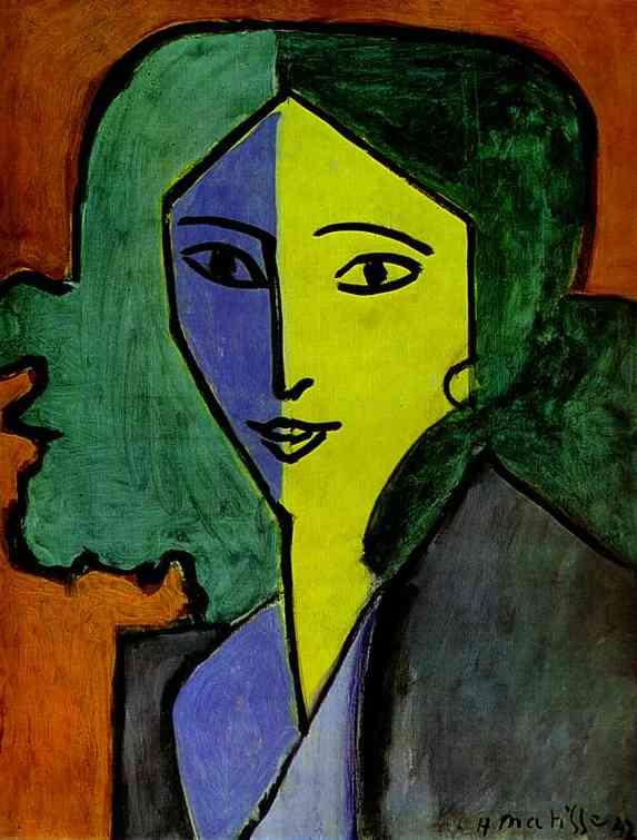 Henri Matisse - Portrait of Lydia Delectorskaya the Artist s Secretary