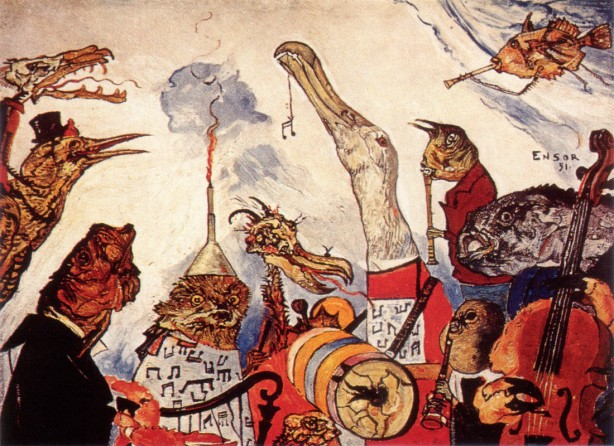 JAMES-ENSOR-THE-FRIGHTFUL-MUSICIANS