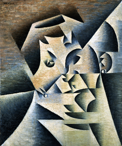 Portrait of Josette by Juan Gris