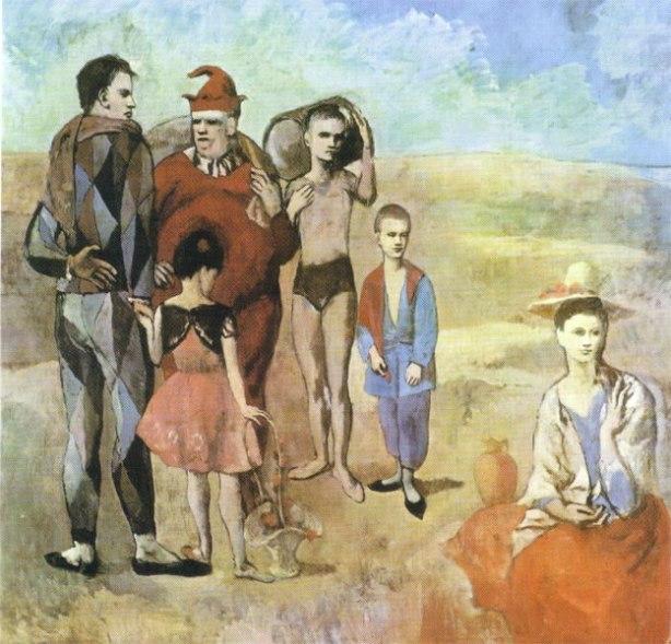 La familia de saltimbanquis, 1905_jpg
