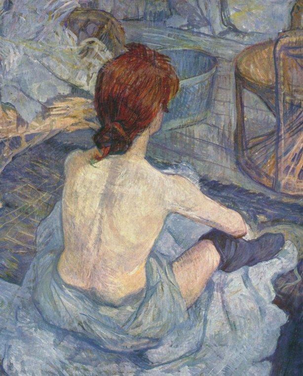 latoiletteToulouse-Lautrec