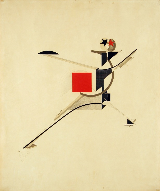 Lissitzky new-man-1923