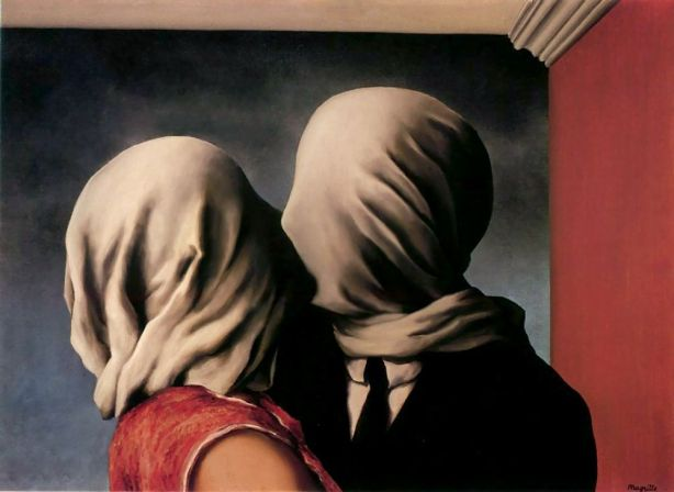 magritte los amantes