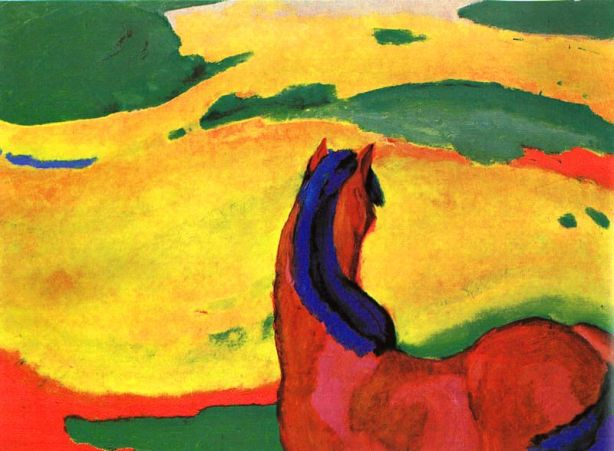 Marc-horse_in_a_landscape