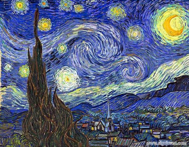 noche_estrellada_van_Gogh