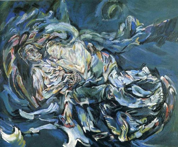Oskar Kokoschka - Die Windsbraut  - 1914 B