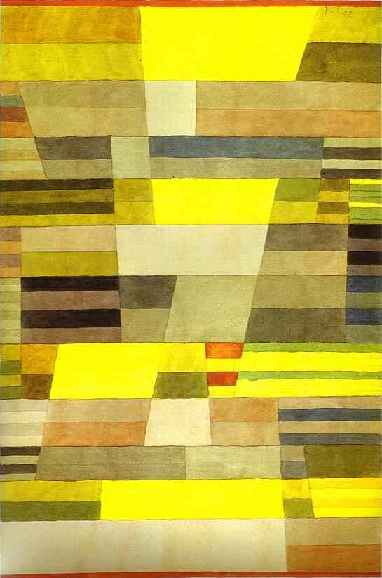 Paul Klee Monument in Fertile Country. 1929