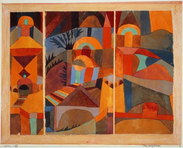 Paul_Klee_-_el jardín del templo