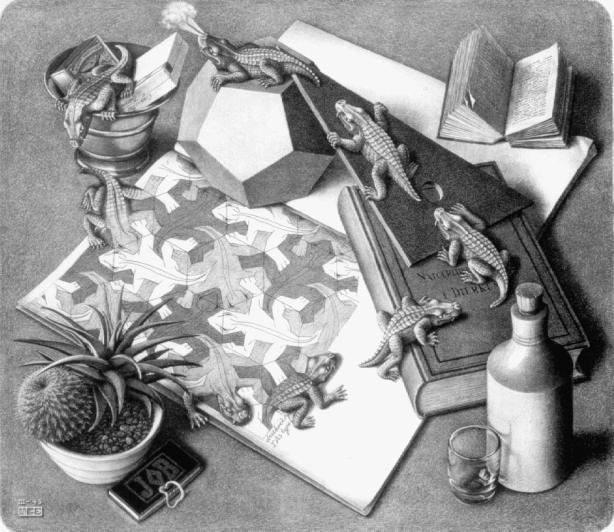 Reptiles, 1943,escher