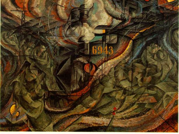 Umberto Boccioni, States of Mind II- The Farewells