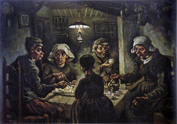 vincent-vangogh-los comedores de patatas