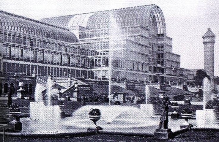 Josefh Paxton - Palacio de Cristal 1851 - Londres