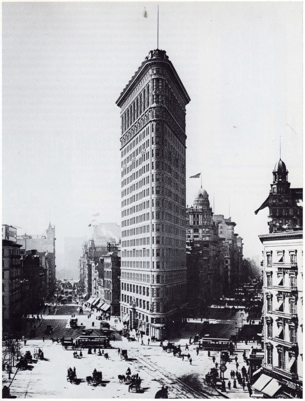 the flatriron building  1902