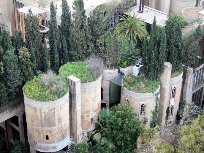"El ""Taller d'Arquitectura"" del arquitecto Ricard Bofill.Taller_d'Arquitectura_Sant_Just_Desvern"