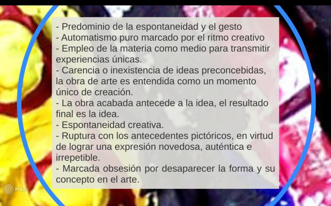 caracteristicas informalismo