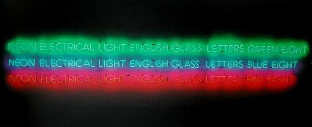 conceptualismo-j-kosuth-letras-de-cristal-ingles-al-neon